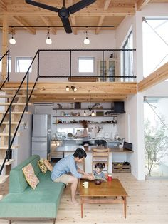 Loft Room Ideas That Will Give You Extra Floor Space Ver.) 🥰 Check out Unique Loft Small Bedroom Ideas That Will Give You Extra Floor Space 🚪 Loft Interior Design, Loft Design, Tiny House Design, Design Case, Interior Architecture, Small Apartments, Small Spaces, Open Spaces, Tiny Loft