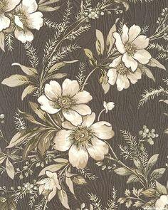 Textile Patterns, Textile Prints, Print Patterns, Textiles, Paisley Art, Botanical Flowers, Textured Wallpaper, Pattern Wallpaper, Flower Prints