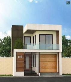 Resultado de imagen para fachadas de casas pequeñas