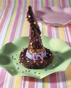 Ricette Epifania per bambini: i cappelli della Befana al cioccolato