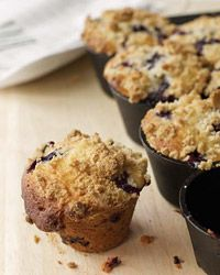 Blueberry Muffins with Crumb Topping Recipe on Food & Wine