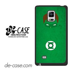 Green Lantern Justice League DEAL-4869 Samsung Phonecase Cover For Samsung Galaxy Note Edge