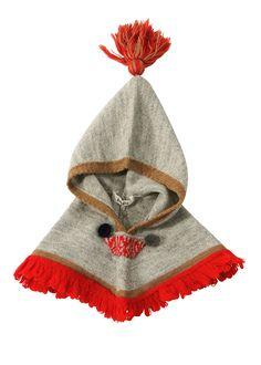 Glacial knit hood - kids clothes