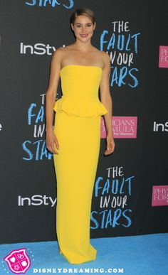 "Shailene Woodley ""The Fault In Our Stars"" movie premiere style"