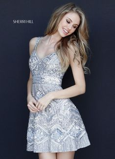 Check out the latest Sherri Hill 51344 dresses at prom dress stores authorized by the International Prom Association. Trendy Dresses, Nice Dresses, Short Dresses, Summer Dresses, Formal Dresses, Evening Dresses, Prom Dress Stores, Homecoming Dresses, Quinceanera Dresses