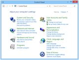 Control Panel (Windows 8)