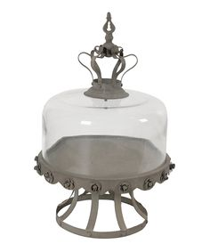 Take a look at this Gray Pedestal Royal Cake Server today!