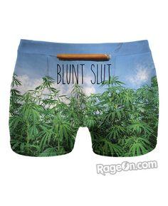 Blunt Slut v2 All Over Print Underwear - Rage On! - The World's Largest All-Over Print Online Retailer