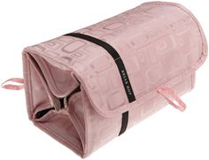 Amazon.com: Lewis N. Clark Layover Cosmetic Roll-Up Bag,Pink,One Size: Clothing