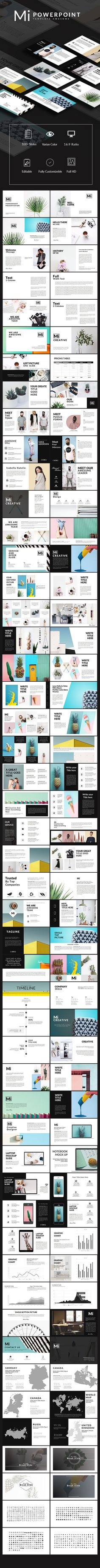 Buy Mi Powerpoint Multipurpose Template by slidercreative on GraphicRiver. MAIN FILE: Images Placeholder Drag And Drop image Theme Colour Option, Easy to change colors, Fully editable text, ph. Powerpoint Design Templates, Powerpoint Themes, Graphic Design Templates, Creative Powerpoint, Keynote Template, Graphisches Design, Layout Design, Cv Inspiration, Presentation Layout