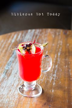 A Spicy Perspective Hibiscus Hot Toddy - A Spicy Perspective