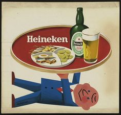 Awesome Vintage Ads From Heineken's Archives