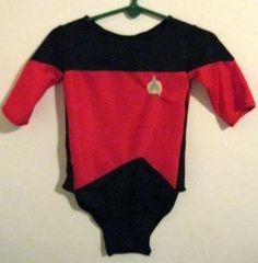 Baby Star Trek Onesie. $60.00, via Etsy.