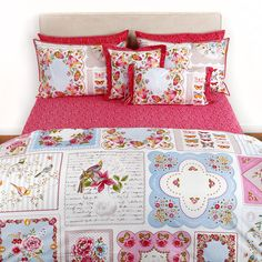 Pip Studio - Vintage Hankies Duvet Set - Multi - Double