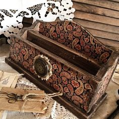 """Купить Короб для писем"""" Осень"""" в интернет магазине на Ярмарке Мастеров"""
