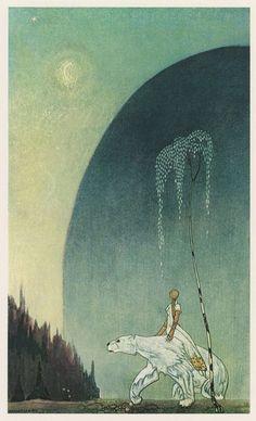 East of the Sun, West of the Moon: The White Bear - Illustrator: Kay Nielsen