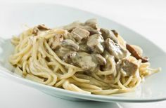 Chicken Tetrazzini Recipe with Cheese and Spaghetti: Chicken Tetrazzini with Mushrooms