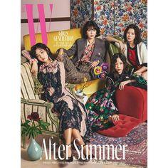 170720 'W KOREA' Magazine Photoshop, 2017 August Issue SNSD 10th Anniversary SNSD Yuri, Sooyoung, Seohyun & Taeyeon