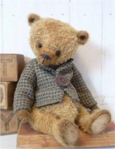 KristinaBears~*BEN*~ A OOAK Vintage Style Old Artist Bear