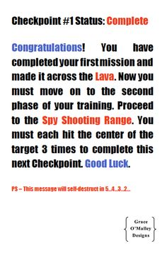 Spy Training 101