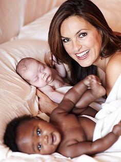 Mariska Hargitay Adopts Son Andrew Nicolas, just monthes after adopting daughter Amaya Josephine.