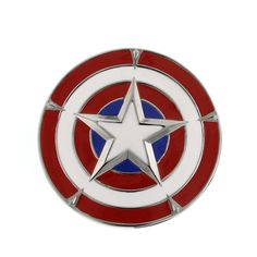 New Series Marvel Comics Captain America Shield Belt Buckle 3-D #captainamerica #beltbuckle #avengers