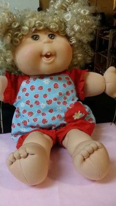 Original cabbage doll for collectible