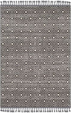 Adorn your floor with the artful detailing and superior softness of Safavieh's Restoration Distressed Rug. Designed to bring timeless style to any space this rug is bedecked with a faded diamond design for added splendor. Grey Rugs, Beige Area Rugs, Bohemian Pattern, Traditional Area Rugs, Home Decor Trends, Accent Decor, Restoration, Charcoal, Modern Farmhouse