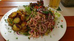 Bayerischer Wurstsalat, ein sehr schönes Rezept mit Bild aus der Kategorie Fleisch & Wurst. 168 Bewertungen: Ø 4,5. Tags: Deutschland, einfach, Europa, Fleisch, Gemüse, Party, Salat, Schnell, Sommer