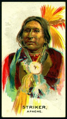 Cigarette Card - Indian Chief, Striker