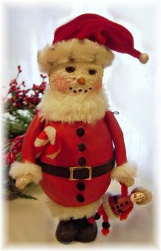 """""""Playing Santa""""  Victorian Whimsies by Nancy Malay"""