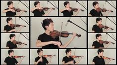 Game of Thrones - Opening Theme solo violin cover by James Yang (youtube, classical-ish)