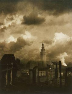 Margaret Bourke-White - Terminal Tower, Cleveland about 1928
