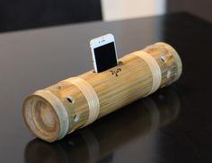 どこまでもナチュラルな竹スピーカー、Bambuson - バンブソン | 日本アジャテ製作