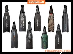 15 Freediving Fins Reviewed by ScuaLab