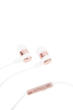 **Marshmallow Earbuds by Skinnydip