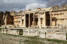 Baalbek, Lebanon | The Great Court, Baalbek, Lebanon