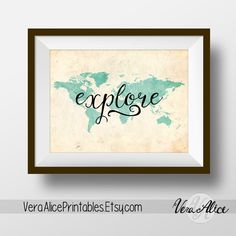 Hey, I found this really awesome Etsy listing at https://www.etsy.com/listing/245935470/motivational-wall-art-printable-explore