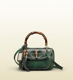 '1921 collection' medium top handle bag with tassels bamboo det