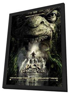 Jack the Giant Slayer 27x40 Framed Movie Poster (2013)