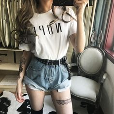 Feminist Shirt, Gym Tank Tops, Tees For Women, Workout Tanks, Overall Shorts, Harajuku, Overalls, Graphic Tees, Unisex