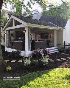 ✔ 30 awesome backyard ideas for patios, porches, and decks 11 > Fieltro.Net ideas patio ✔ 30 awesome backyard ideas for patios, porches, and decks 1 > Fieltro. Outside Patio, Outside Living, Outdoor Rooms, Outdoor Living, Outdoor Patio Rugs, Backyard Patio Designs, Backyard Ideas, Porch Designs, Patio Ideas Off House