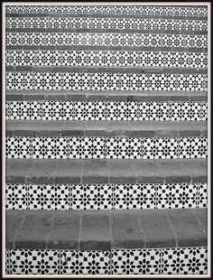 moorish tiles, amazing patterns across southern spain