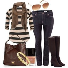 Denim and Boots - Plus Size - Polyvore