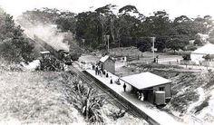 Austinmer Railway Station in 1914.