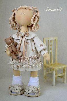 Stefania - 47 cm Bonecas Artesanais Colecionável  http://www.livemaster.ru/item/1049472-kukly-igrushki-stefania