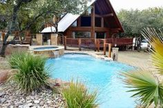 Log Country Cove - 4+ Bedroom Log Country Cove Homes - Burnet Texas Vacation Homes