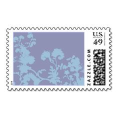 Pretty Floral Design Postage