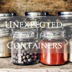 Unlikely Containers Holding Your Story: Writing this one made me weep. What helps hold your story? Don't miss the sale mentioned at the end.