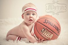 Baby Boy Photo Shoot Ideas Basketball 53 Ideas For 2019 6 Month Baby Picture Ideas Boy, 3 Month Old Baby Pictures, Baby Boy Pictures, Baby Photos, Basketball Baby Pictures, Basketball Quotes, Six Month Baby, Baby Love Quotes, Boy Photo Shoot